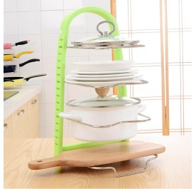 OSUKI Kitchen Ware Storage Rack (Green)