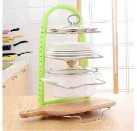 OSUKI Kitchen Ware Storage Rack (Green)