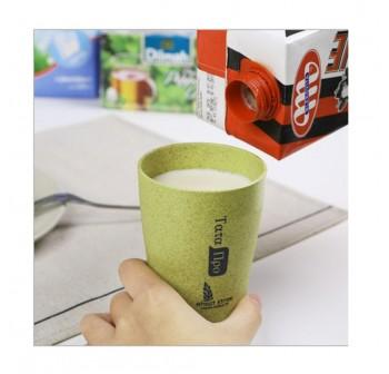 OSUKI 400ml Wheat Straw Rinse Cup (Green)