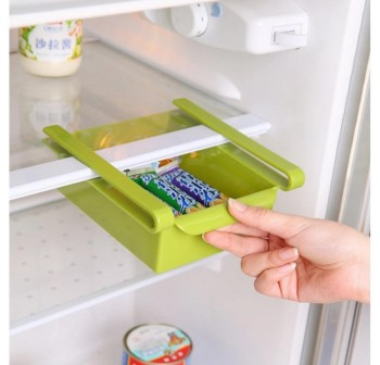 OSUKI Refrigerator Multi-Partition Storage Rack (Green)