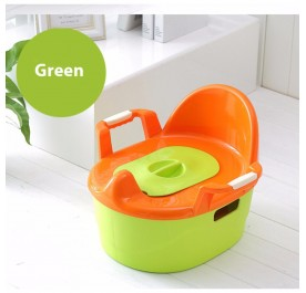 OSUKI Japan Quality Baby Potty Toilet Bowl Chair (Green)
