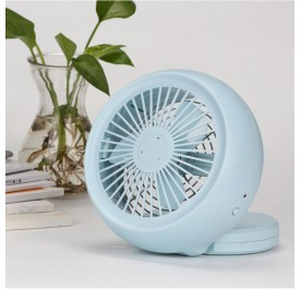OSUKI Ultra Light Portable USB Rechargeable Fan (Light Blue)