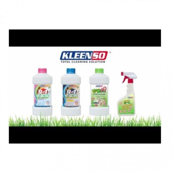 2 X KLEENSO 9 In 1 Anti-Bacterial Tea Tree Oil Floor