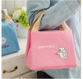 OSUKi Baymax Colourful Lunch Bag (Pink)