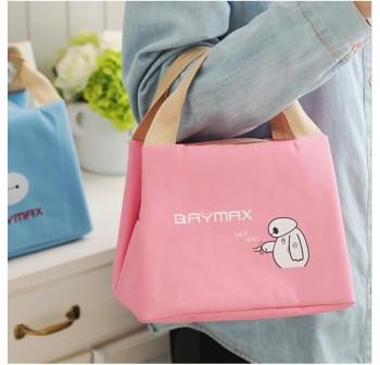 OSUKi Baymax Colourful Lunch Bag (Pink)