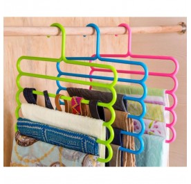 OSUKI 5 Layer Clothes Hanger (Pink)