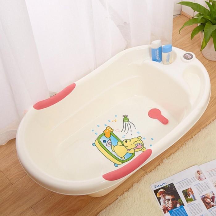 osuki cartoon design baby bath tub pink. Black Bedroom Furniture Sets. Home Design Ideas