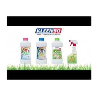 KLEENSO 9 in 1 Anti-Bacterial Tea Tree Oil Floor Cleaner 900G (Pink)