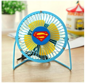 OSUKI Portable Electric USB Mini Fan (Superman)