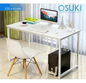 OSUKI Japan High Quality Modern Office Table 120 x 60cm (White)