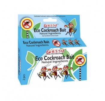 3 Packets x PESSO Eco Cockroach Bait 2pcs