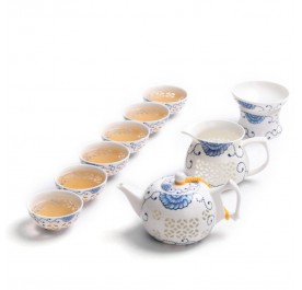 OSUKI One pot and 6 cups of exquisite ceramic tea set