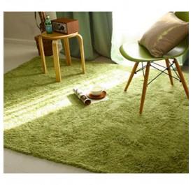 OSUKI Modern 160 x 120cm Living Room Silky Wool Carpet (Green)