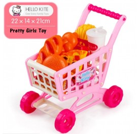 OSUKI Toys Creative Shopping Cart (Hello Kitty)