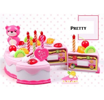 OSUKI Toys Creative Fruit Cake Deco