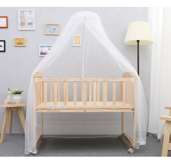 OSUKI Japan Quality Cradle Baby Cot Wooden Rocking