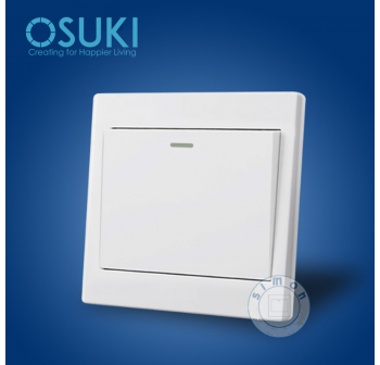 OSUKI Wall Socket Power On/Off Switch x 3