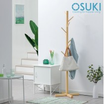 OSUKI Nature Wood Clothe Hanger Rack