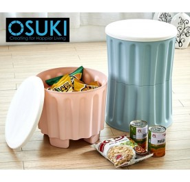 OSUKI Multipurpose Kids Step Stool Home Storage (2 Units /Set)