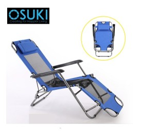 OSUKI Comfort Foldable Relax Chair (Blue)