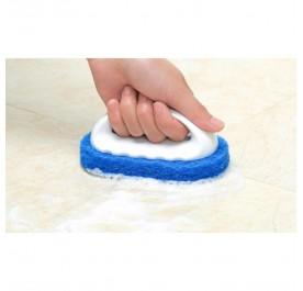 OSUKI Strong Decontamination Cleaning Sponge Brush (Blue)
