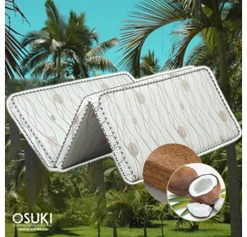 OSUKI Natural Coconut Fibre Foldable Single Mattress