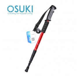 OSUKI Hiking Sticks Adjustable Retractable Anti-Shock Telescopic Poles