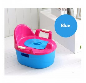 OSUKI Japan Quality Baby Potty Toilet Bowl Chair (Blue)