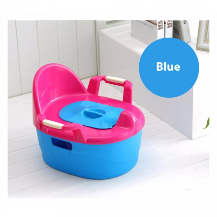 OSUKI Japan Quality Baby Potty Toilet Bowl Chair Blue