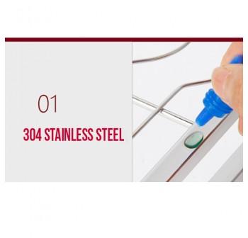 OSUKI 304 Stainless Steel Kitchen Dish Rack