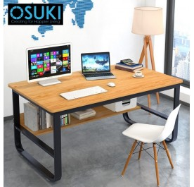 OSUKI Solid Frame 120 x 60cm Office Home Table