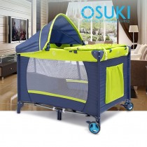 OSUKI Baby Cot Playpen 5 in 1 (Free Mosquito Net)