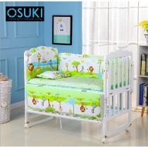 OSUKI Baby Cot Bedding Set 5 in 1