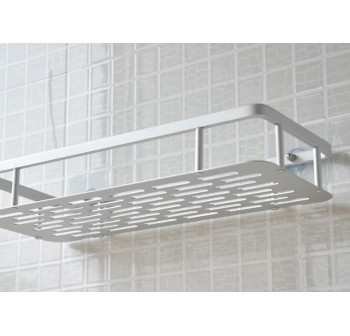 OSUKI Bathroom Shelf Adhesive Aluminium Wall Rack