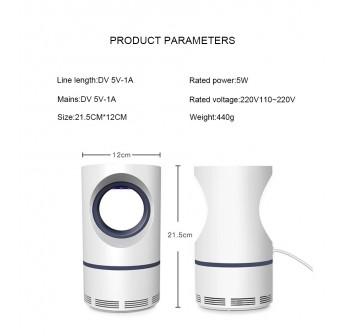 OSUKI USB Mosquito Killer Lamp LED