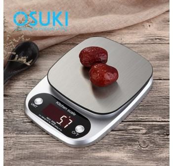 OSUKI Food Weight Scale Digital 10Kg-1g (FREE Battery)