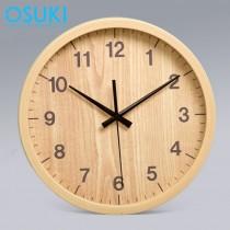 OSUKI Wall Clock 30cm Analog Quartz AA17