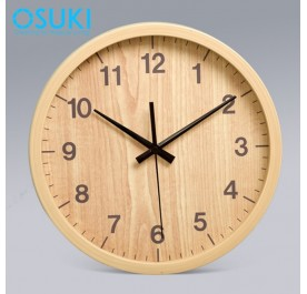 OSUKI Wall Clock 30cm Analog Quartz AA17