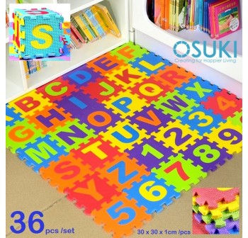 OSUKI 36pcs Puzzle Baby ABC Mat (180x180x1cm)