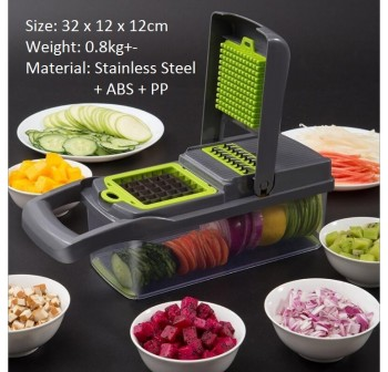 OSUKI Vegetable Cutter Set (12 In 1)