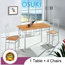 OSUKI Home Dining Table Chair Set (5 in 1) AH79