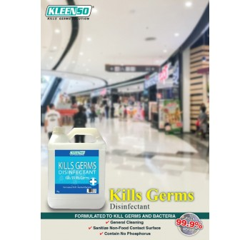 KLEENSO Kill Germs 99.9% Disinfectant Surface Wipes 4KG