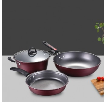 OSUKI Cookware Set (3 in 1)