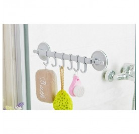 OSUKI Creative Powerful Sucker Hook For Bathroom Wall (Blue)