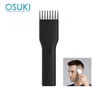 OSUKI Boost USB Electric Hair Clipper 2 Speeds Ceramic Cutter Hair Trimmer
