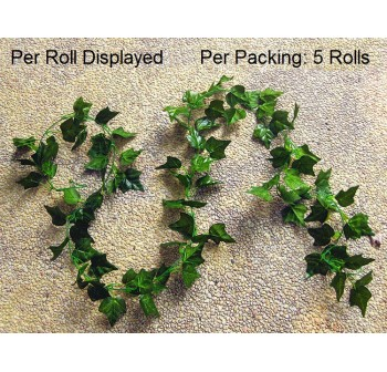 OSUKI Artificial Plant Leaf Home Décor (5 Rolls)