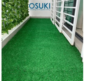 OSUKI 5 x 2m Artificial Grass Carpet 20mm Natural Green (Indoor/Outdoor)