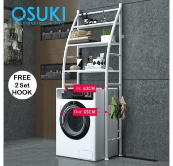 OSUKI Washing Machine Rack Shelf Hanger 3 Tier