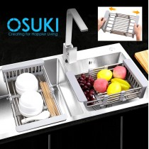 OSUKI Sink Filter Rack Extendable 28 - 43cm