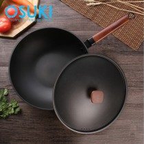 OSUKI Classic Iron Cooking Pan 30cm